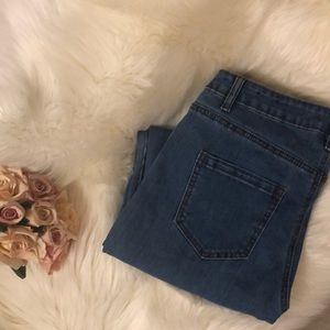 Missguided high-waisted skinny jeans